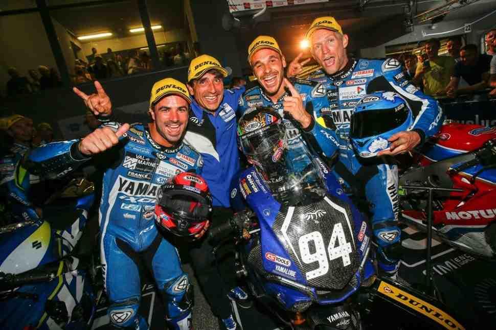 EWC: GMT94 Yamaha выиграла 8-часовую гонку в Словакии