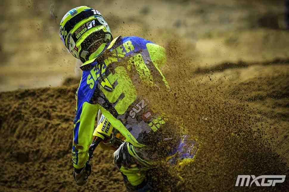 Мотокросс MX2: Джереми Сивер - победитель 1 заезда Гран-При Ломбардии