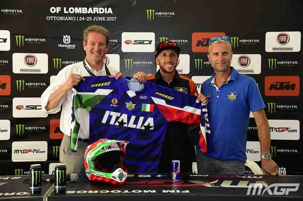 Мотокросс Наций 2017: цвета сборной Италии