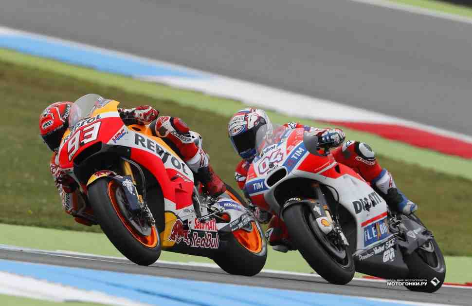 MotoGP: Довициозо и Лоренцо как Триумф и Катастрофа