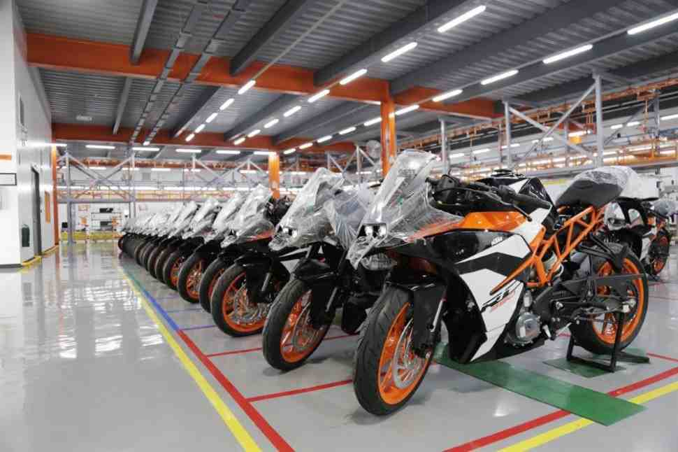 KTM открыл завод на Филиппинах