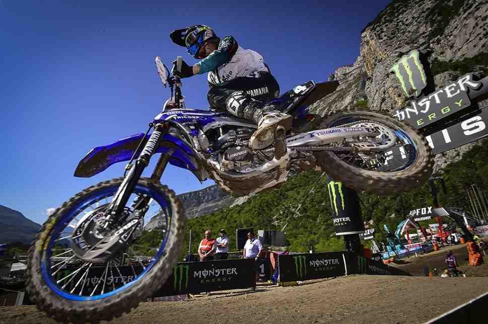 Мотокросс MXGP: Арно Тонус остается c Wilvo Yamaha