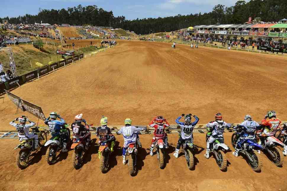 Мотокросс MXGP/MX2: хронометраж Гран-При Португалии on-line