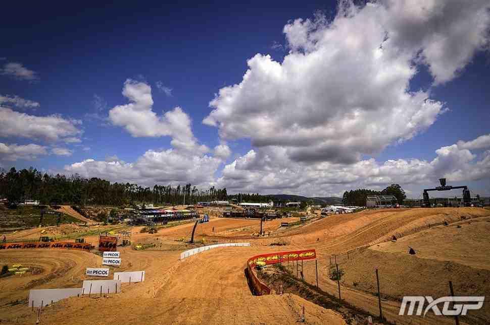 Мотокросс: круг по трассе Гран-При Португалии MXGP - Agueda