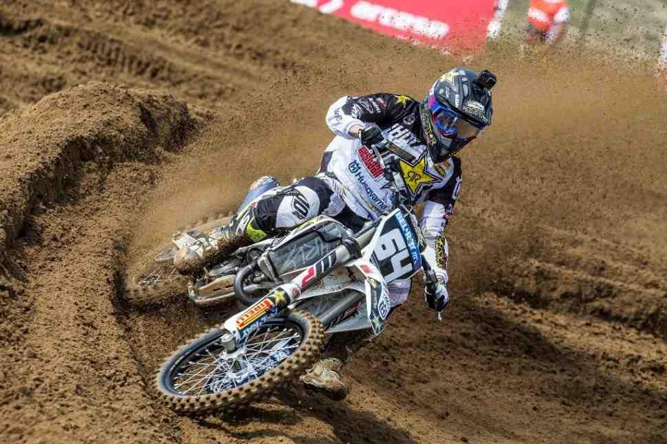 Мотокросс MX2: Ковингтон - победитель квалификации Гран-При Португалии
