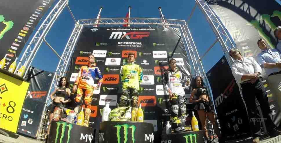Мотокросс MX2: Сивер отобрал победу у Йонасса - Гран-При Португалии