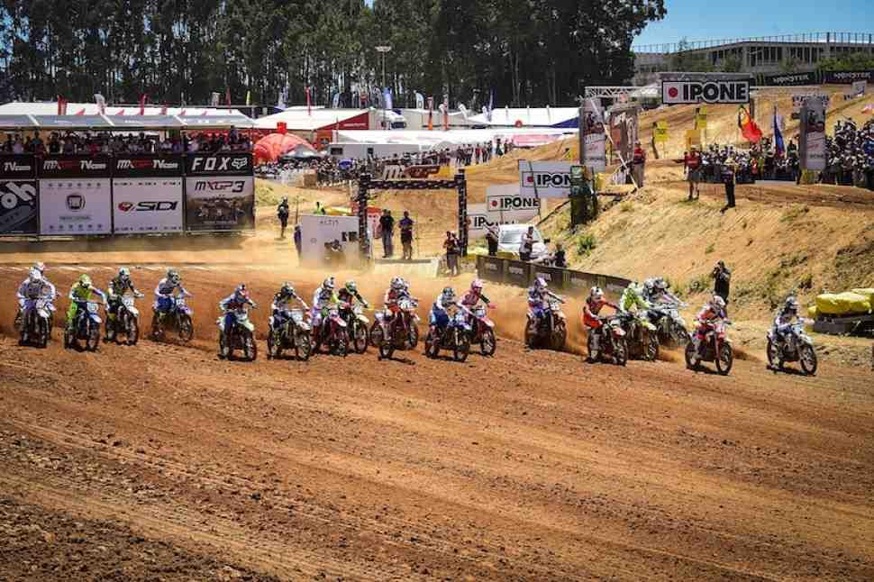 Мотокросс: видео Гран-При Португалии MXGP/MX2