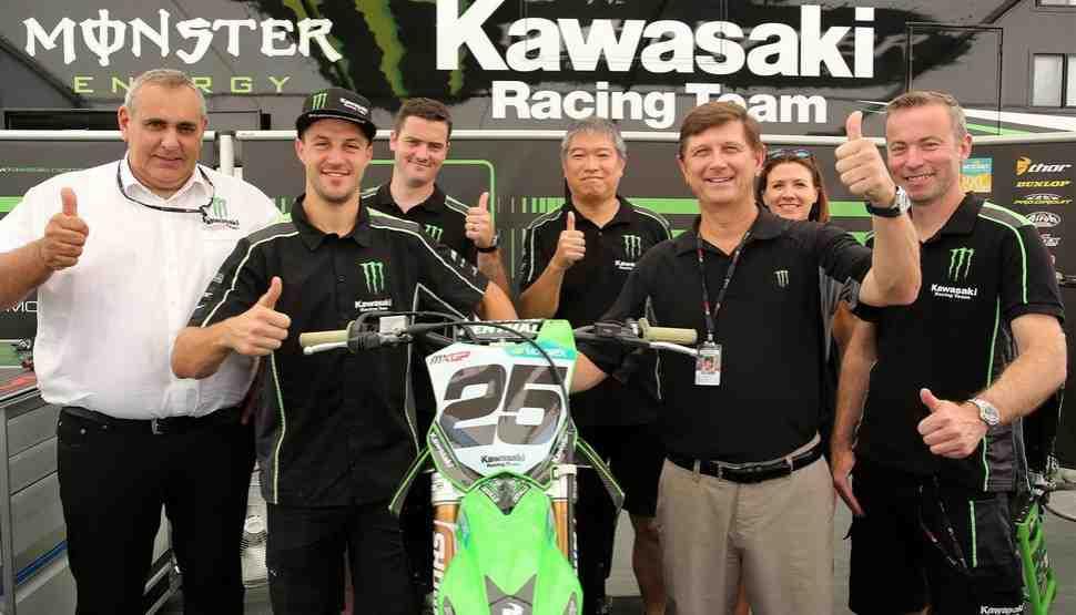 Мотокросс MXGP: Клеман Десалле с Kawasaki до 2020 года