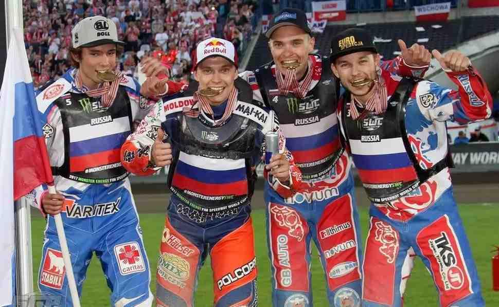 Speedway World Cup: сборная России взяла бронзу Командного Кубка мира
