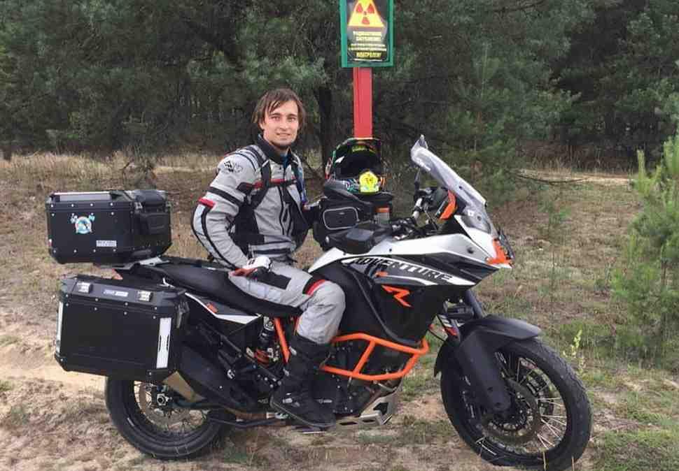 MotoGP: на каникулах Карел Абрахам прокатился по Белоруссии и Украине