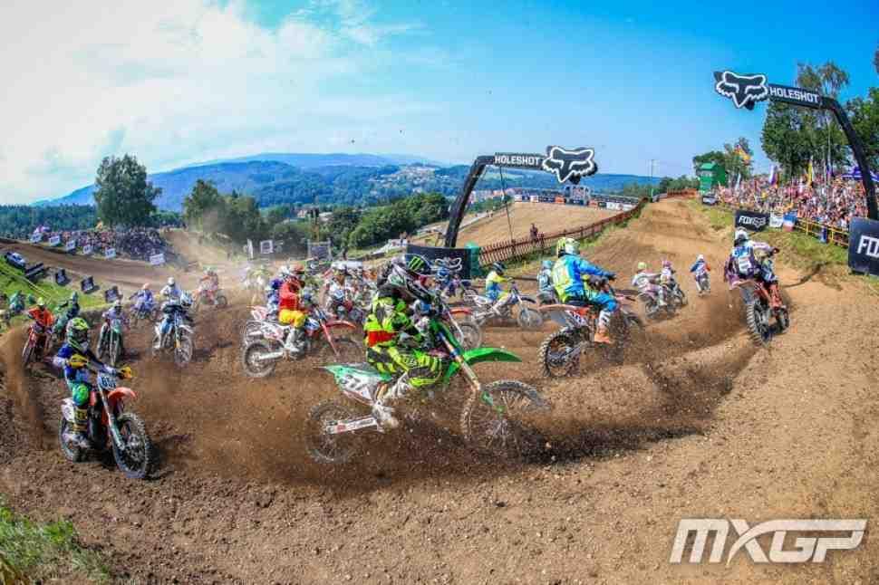 Мотокросс: Гран-При Чехии MXGP/MX2 - расписание и участники