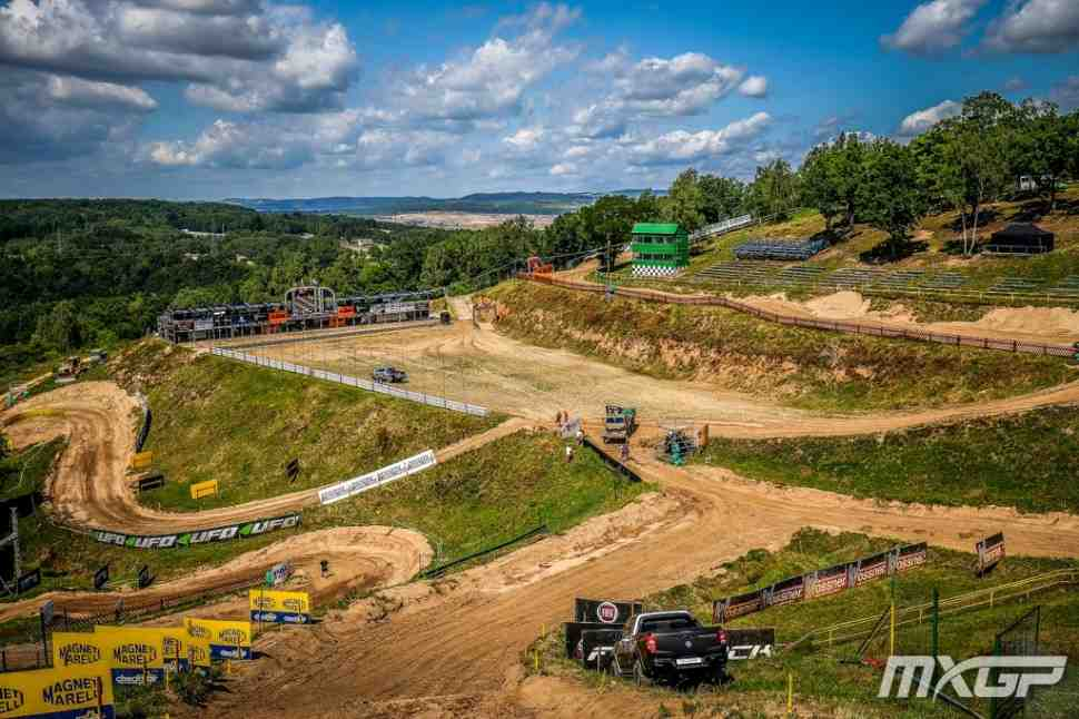 Мотокросс: видео из Локета - круг по трассе Гран-При Чехии MXGP/MX2