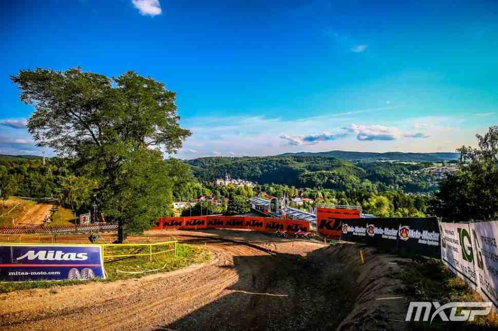 Мотокросс: новое расписание Гран-При Чехии MXGP/MX2 на воскресенье