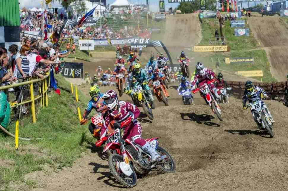 Мотокросс: Тим Гайзер снова в форме - квалификация Гран-При Чехии MXGP