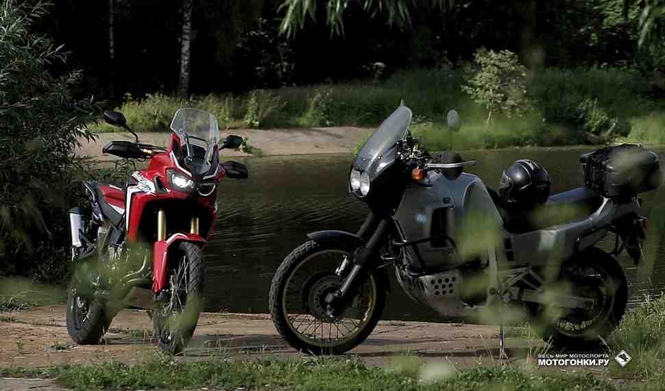 Тест-драйв: Сравнение Honda Africa Twin XRV750 и CRF1000L - Философия легенды