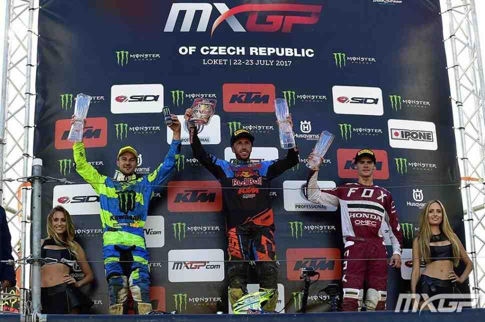 Мотокросс: видео Гран-При Чехии MXGP/MX2 - Локет