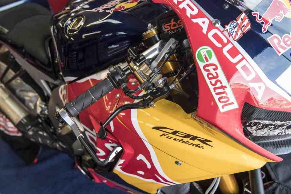 WSBK: Red Bull Honda объяснила появление Давиде Джулиано на тестах в Лаузице