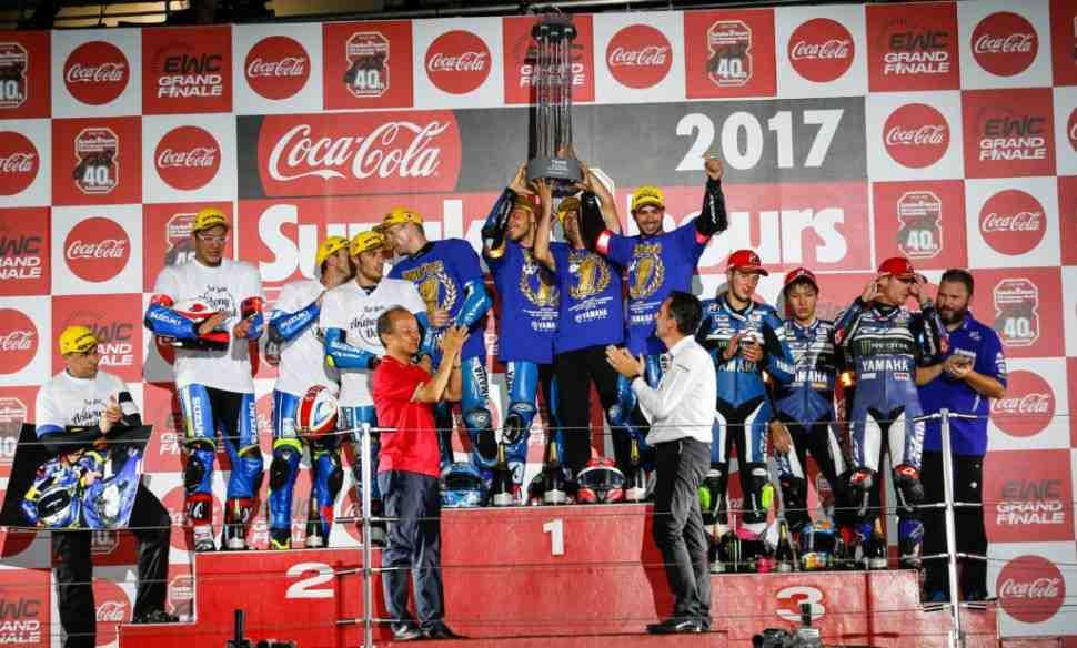 EWC: Yamaha Factory выигрывает Suzuka 8 Hours, GMT94 вырывает титул у SERT