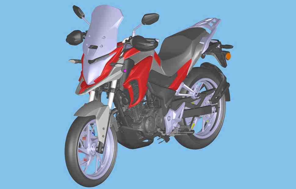 Honda готовит к запуску мини-Adventure для развивающихся рынков