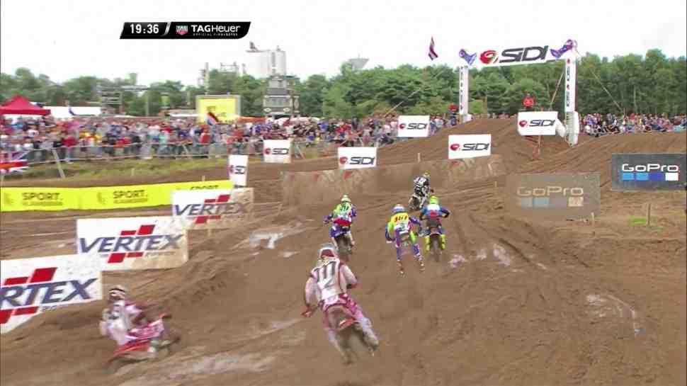 Мотокросс: Херлингса и Кайроли разделили полсекунды - квалификация Гран-При Бельгии MXGP