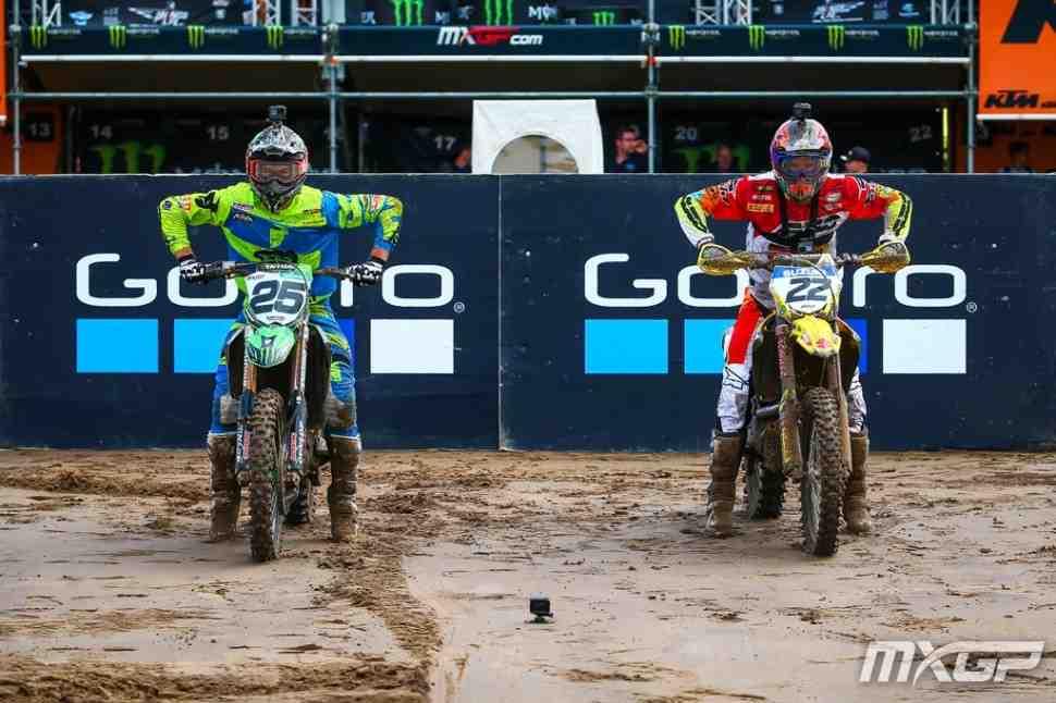 Мотокросс: круг по трассе Гран-При Бельгии MXGP/MX2 с Десалле и Страйбосом