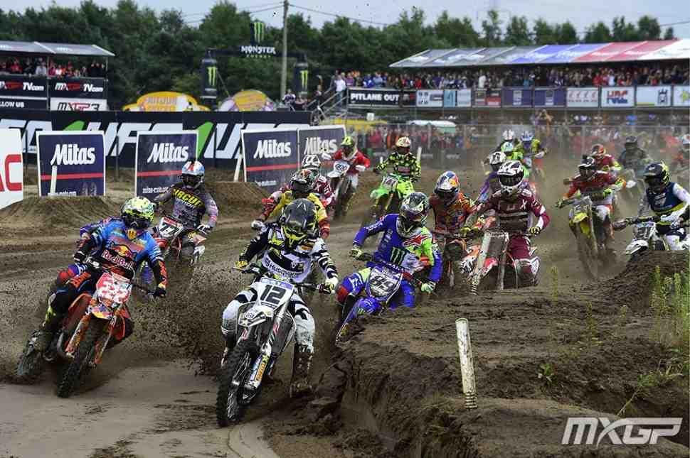 Мотокросс MXGP: видео квалификаций Гран-При Бельгии