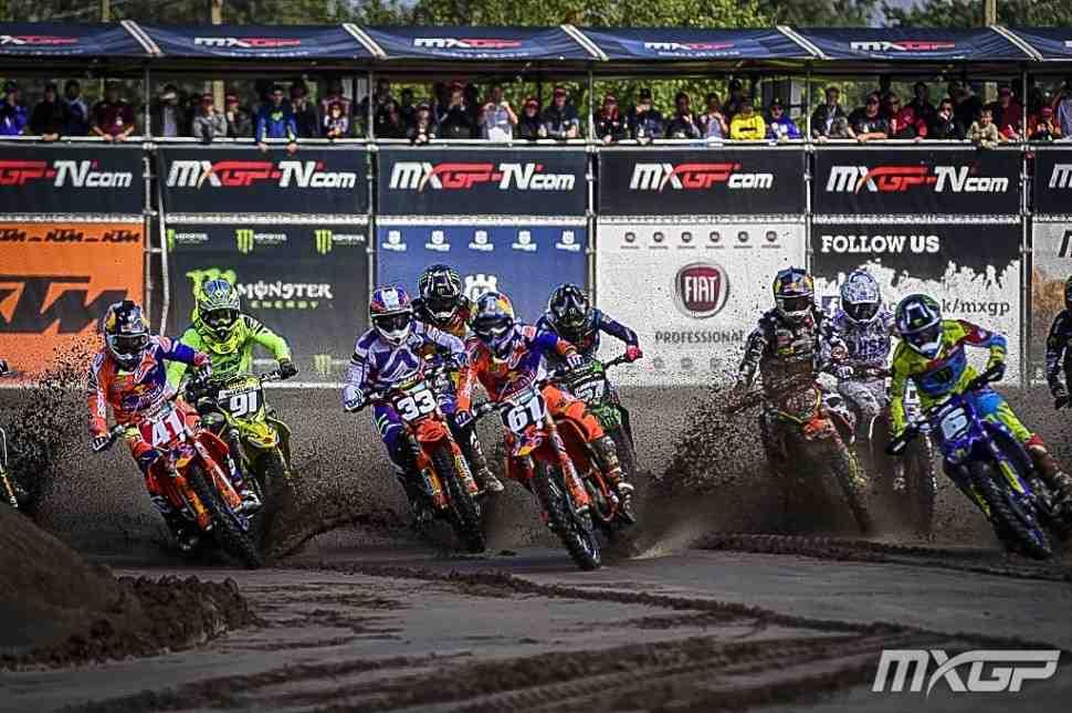 Мотокросс: Йонасс и Херлингс - победители 1-х заездов Гран-При Бельгии MXGP/MX2
