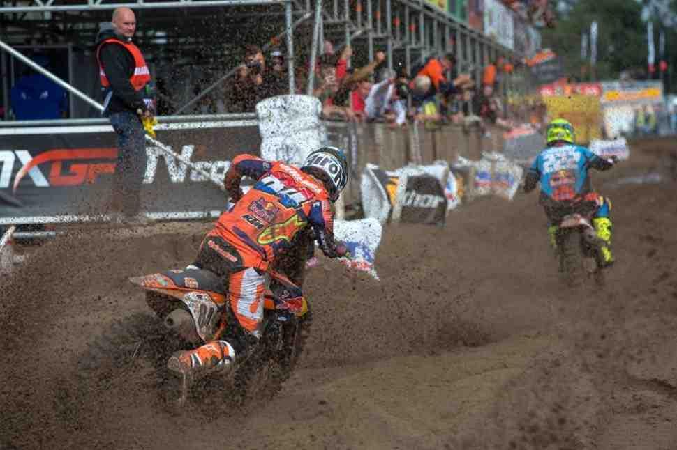 Мотокросс: на подиумах MXGP/MX2 впервые только пилоты KTM - результаты Гран-При Бельгии