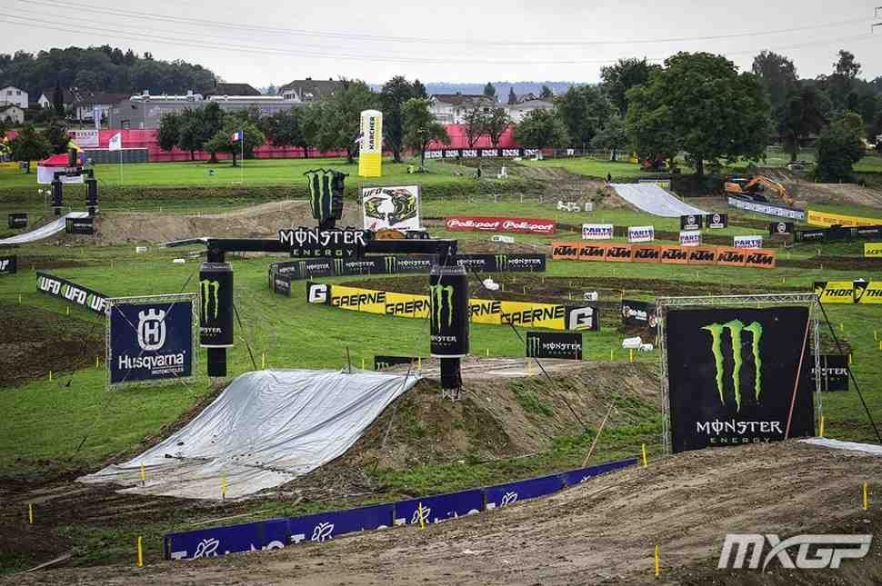 Мотокросс: трасса Гран-При Швейцарии MXGP/MX2 - видео