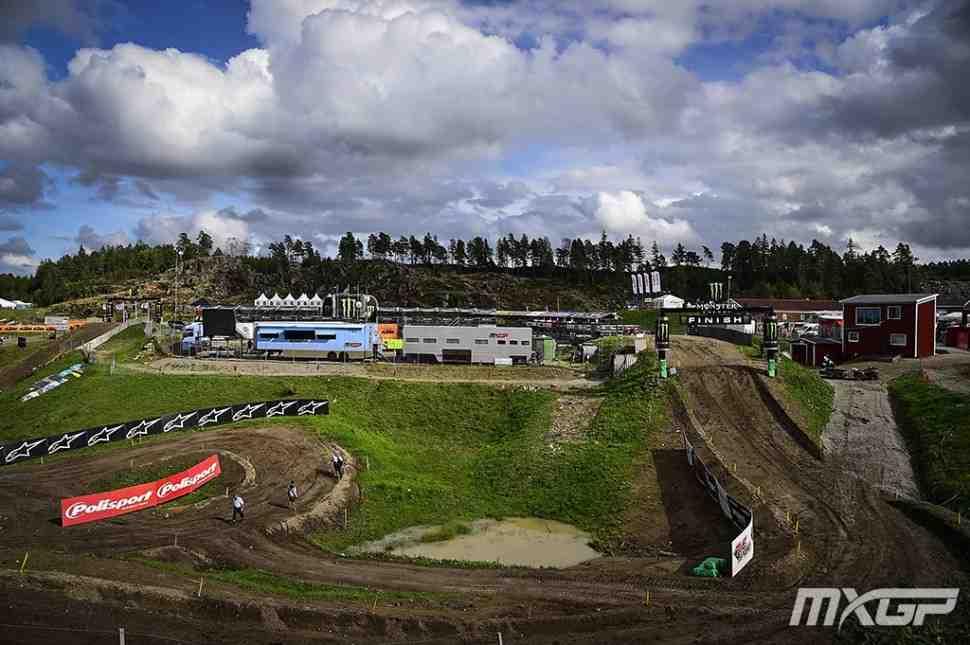 Мотокросс MXGP/MX2: хронометраж Гран-При Швеции on-line