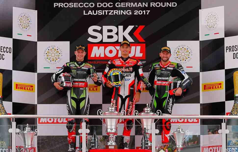 WSBK: Результаты 1 гонки в Lausitzring