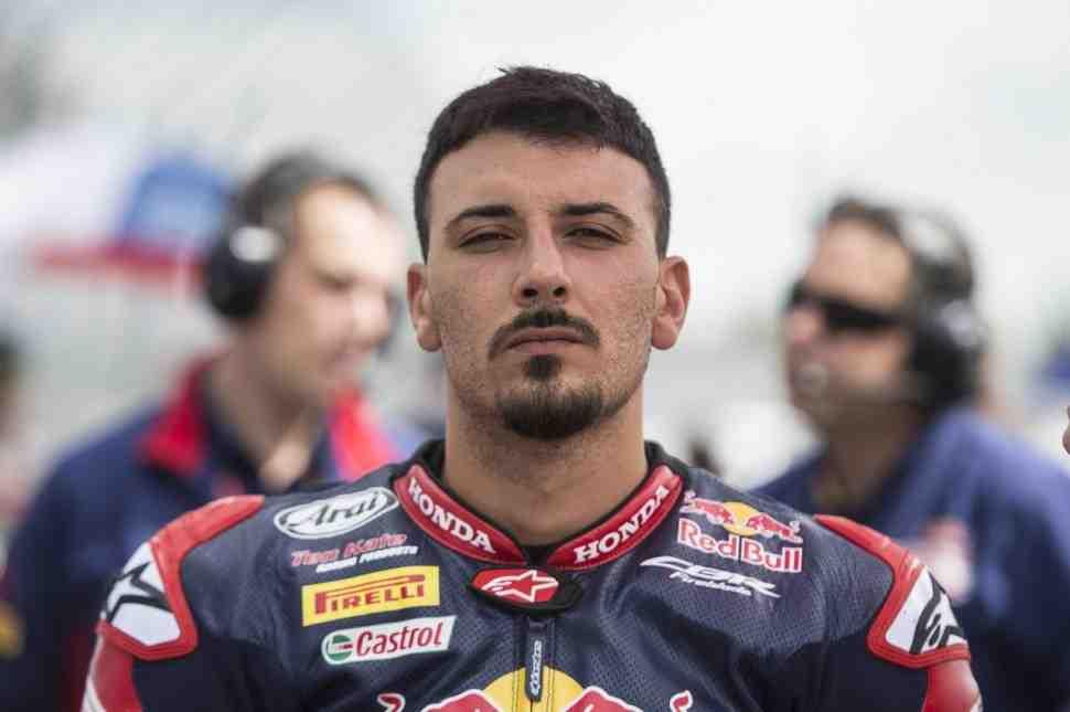 WSBK: Давиде Джулиано - Трудно быть агрессивным в первой же гонке