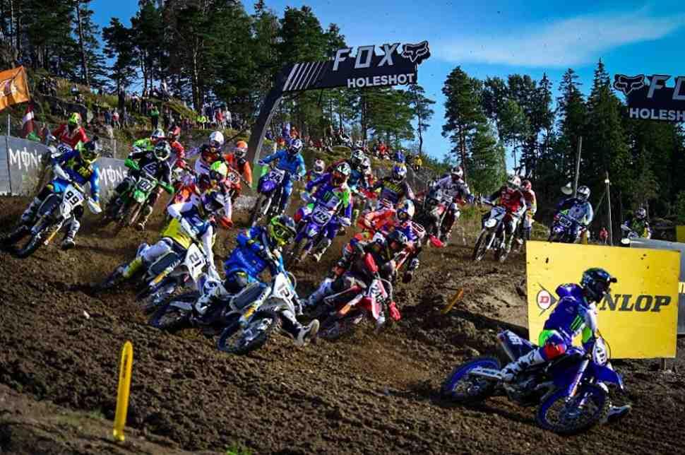 Мотокросс MXGP: квалификация Гран-При Швеции -видео