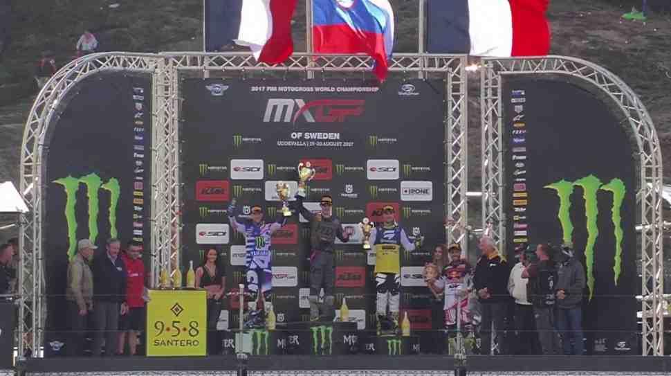 Мотокросс: результаты Гран-При Швеции MXGP/MX2 - 16-й этап чемпионата Мира