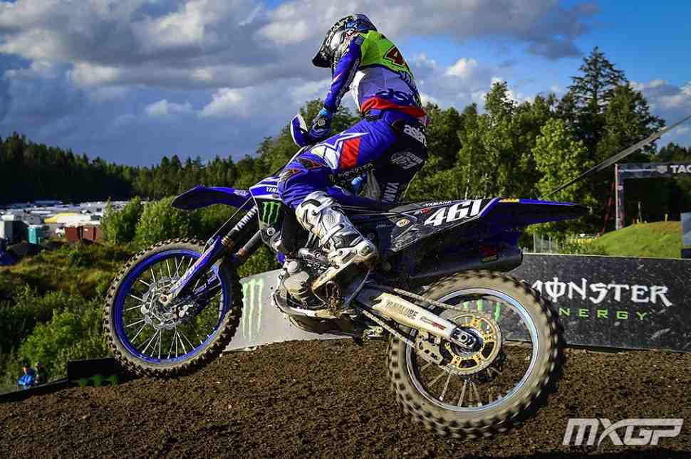 Мотокросс MXGP: второй заезд Гран-При Швеции - победа Фебвре