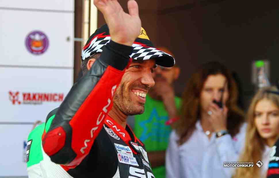 Алекс Де Анжелис - победитель MRCup 2017: Сегодня я ехал свободно и легко!