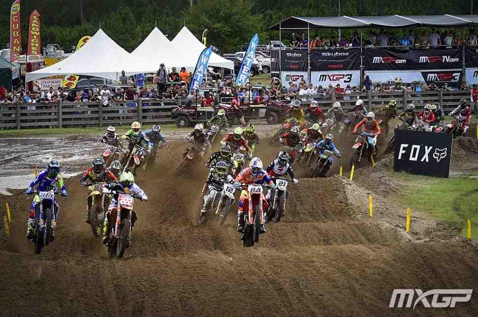 Мотокросс: результаты квалификации Гран-При США MXGP/MX2 - Джексонвилл