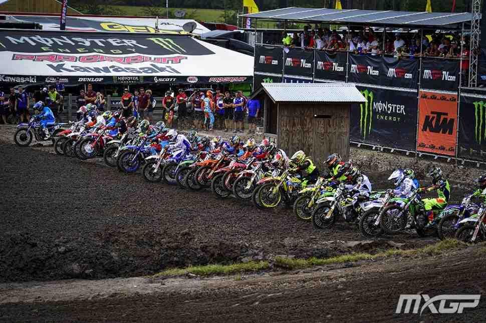 Мотокросс MXGP: круг по трассе WW Motocross Park - видео