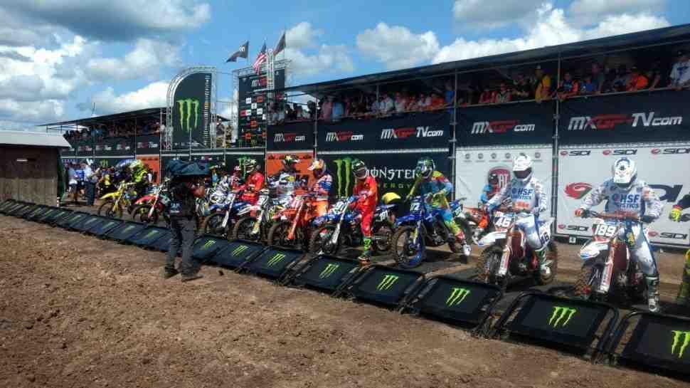 Мотокросс: RJ Хемпшир - победа в Гран-При США MX2