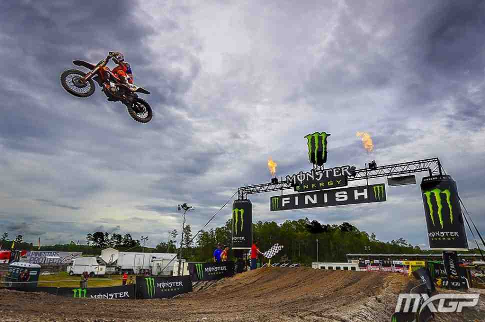 Мотокросс MXGP: Херлингс выиграл 2-й заезд и Гран-При США