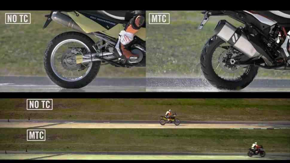 Технологии KTM - наглядно и доступно: система трекшн-контроля MTC