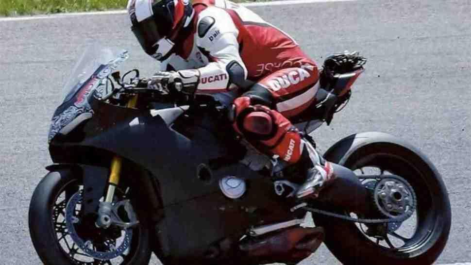 Новая утечка: Ducati V4 или очередной fake?