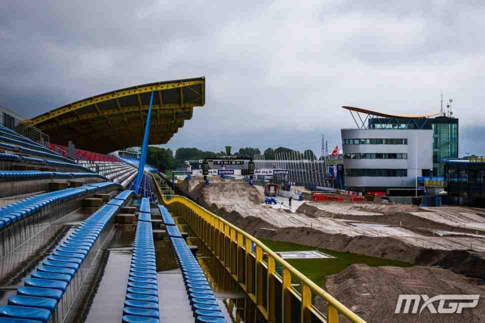 Мотокросс: круг по трассе Гран-При Нидерландов MXGP - TT Assen
