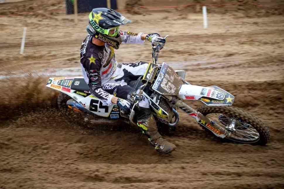 Мотокросс: Томас Ковингтон на поуле Гран-При Нидерландов MX2 - квалификация