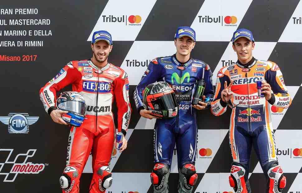 MotoGP: Маверик Виньялес вернулся на поул-позицию в Мизано