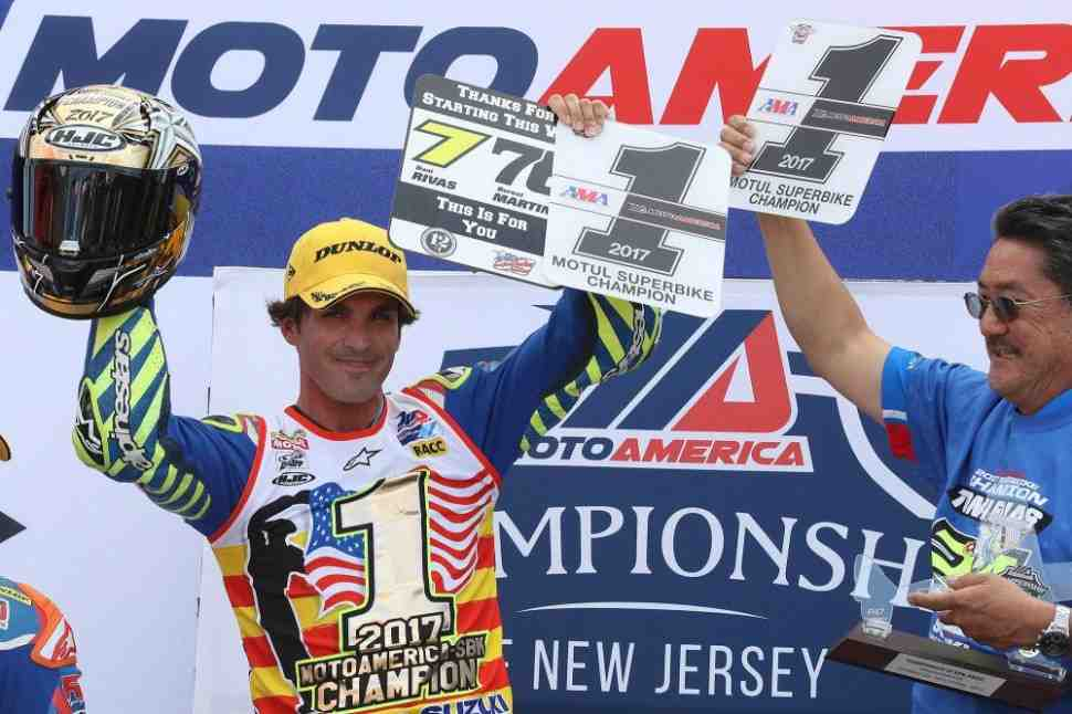 Тони Элиас выиграл чемпионат MotoAmerica в классе Superbike
