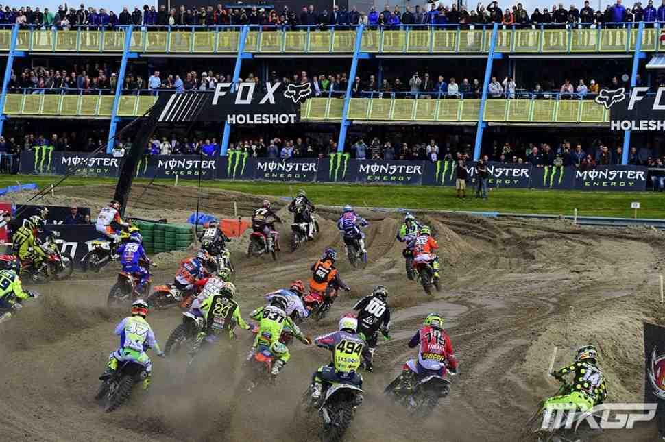 Мотокросс: видео Гран-При Нидерландов MXGP/MX2 - Ассен