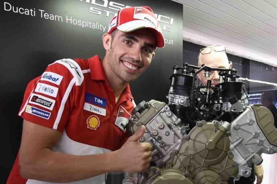 Из MotoGP в WSBK: Супербайк Ducati V4 базируется на прототипе Desmosedici GP15
