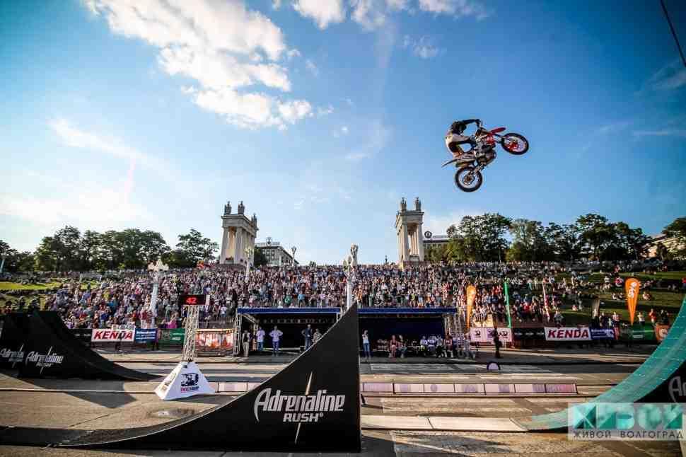 В Волгораде состоялся первый в истории Чемпионат России по мотофристайлу
