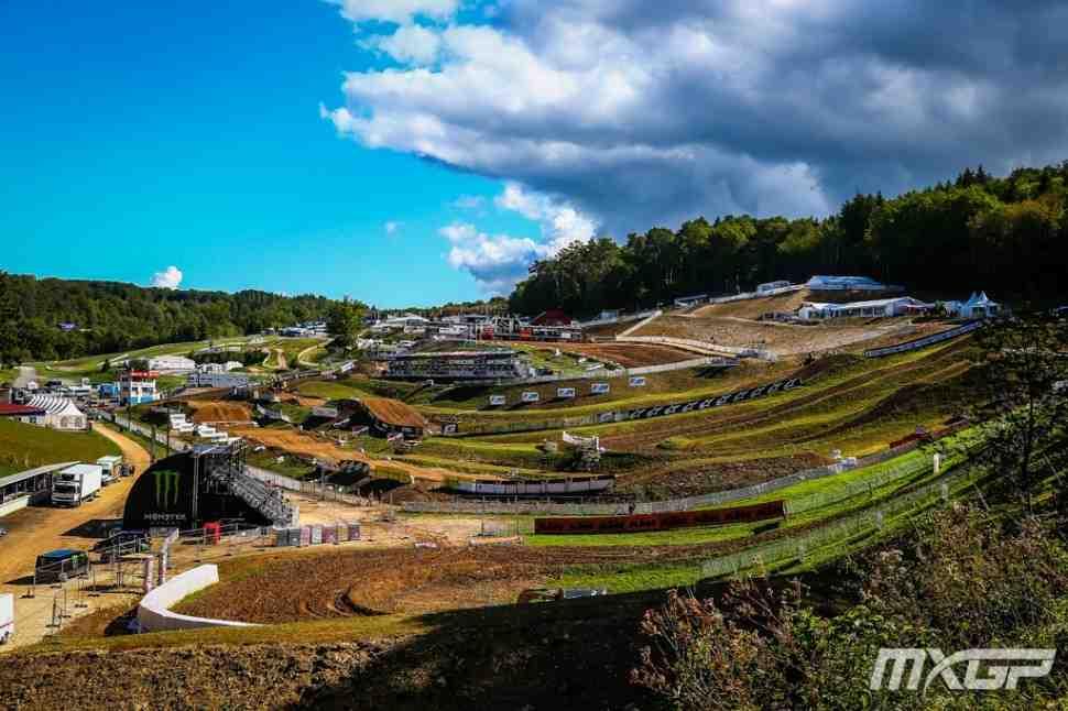 Мотокросс MXGP/MX2: хронометраж Гран-При Франции, Pays de Montbeliard